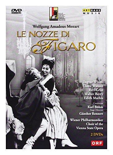 Wolfgang Amadeus Mozart & Bohm Karl & Berry Walter & Watson Claire & Wixell Ingvar & Grist Reri: Le Nozze Di Figaro [2DVD]