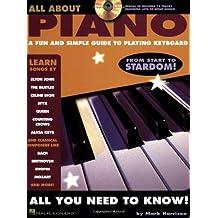 All About Piano: Noten, CD, Songbook für Klavier