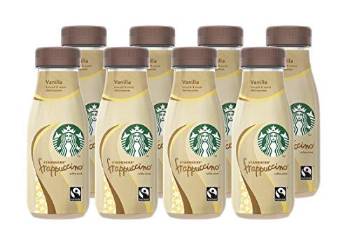 Starbucks Frappuccino Vanilla, 8er Pack (8 x 250 ml)