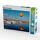 Ballonsport trifft Segelsport 1000 Teile Puzzle quer (CALVENDO Sport)