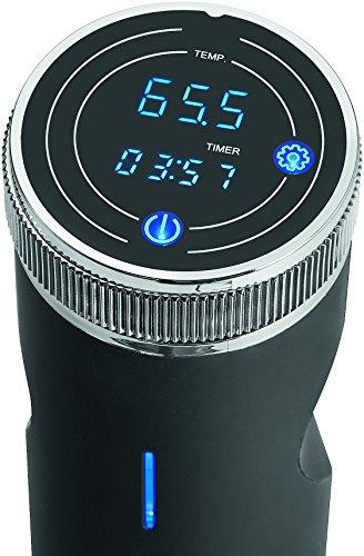 Profi Cook PC-SV 1126 Sous Vide Stick, Edelstahl, LED-Multifunktionsdisplay, Timer-Funktion, 800 W - 2