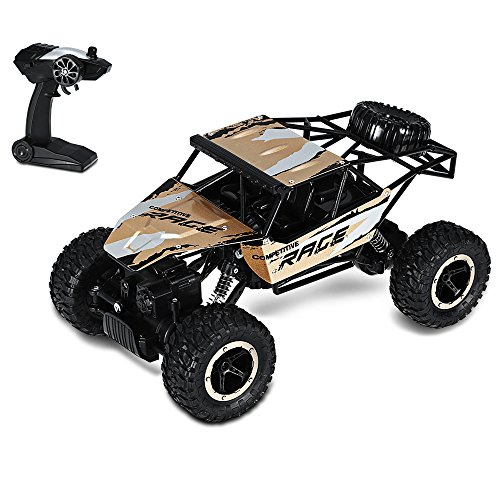 GBlife Q15 1:14 Échelle 2.4GHz 4WD RC Voiture 20km/h Voiture Télécommande Jouet pour Enfant Voiture Tout Terrain Climbing Car RTR Alloy Plate / Shock Absorber / Speed Switch 700mAh 4.8V 4S NiCd