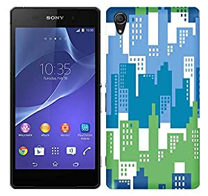WOW 3D Printed Designer Mobile Case Back Cover For Sony Xperia Z2