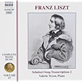 Die Klavierwerke Vol. 17 (Schubert-Lieder-Transkriptionen Vol. 2)