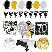 Suchergebnis Auf Amazonde Für Tischdeko 70 Geburtstag