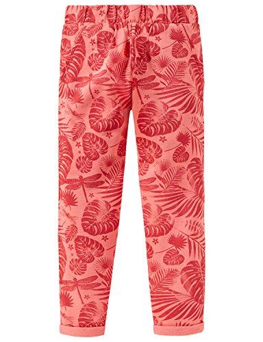Schiesser Mädchen Sporthose Sweat Hose, Rot (Koralle 517), 116