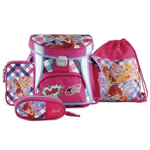 Hello Kitty Kinder Schule Set Winx Club, Pink/Blau/Weiß -