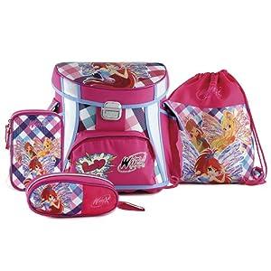 Hello Kitty Winx Club 16342 - Mochila escuadra Conjunta 4 en 1