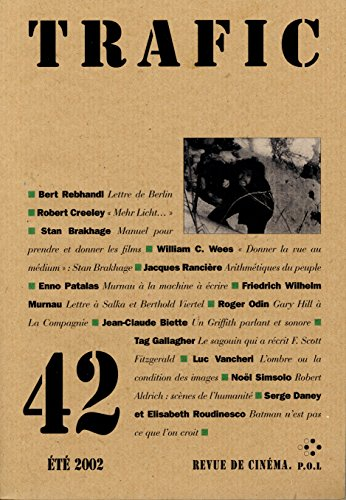 Trafic N° 42 (Été 2002) par Collectifs
