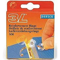 3L 8214–500agujero verstärkungs anillos de PP transparente