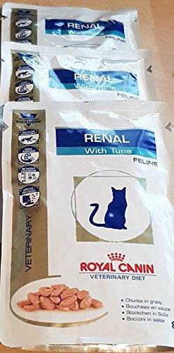 Royal Canin Vet Diet Renal Frischebeutel 48 x 85 g Tuna Katze