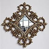 LEI ZE JUN UK Mirror- Hintergrund Dekorationen Wand Spiegel Europäischen Eingang Wandhalterung Spiegel Badezimmer Spiegel Wandspiegel (Farbe : B)