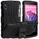 This Hybrid Case offer rugged protection, excellent grip, slim design, kickstand viewing and looks like it's ready to go to battle! Optimum protection for your new Google Nexus 5. This is a hybrid case that offers two layers of protection. First wrap...