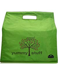 Yummy Stuff Reusable Grocery Shopping Bag By Kerribag By Kerribag