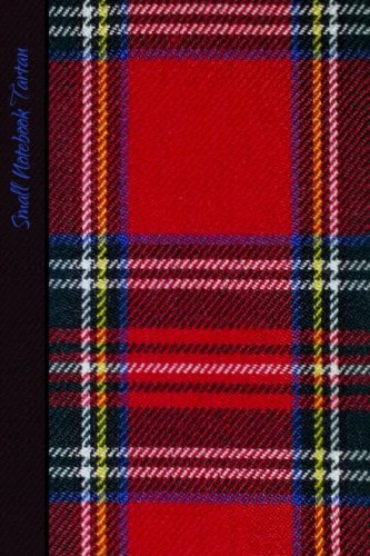 Small Notebook - Tartan: Gifts / Gift / Presents ( Scotland Scottish Pocketbook / Mini Notebook ) ( Red Tartan ) (World Cultures)