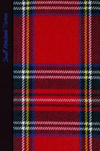 Small Notebook - Tartan: Gifts / Gift / Presents ( Scotland Scottish Pocketbook / Mini Notebook ) ( Red Tartan ) (World Cultures) Ralph Lauren Tartan