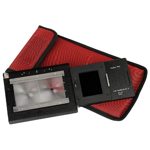 Hasselblad H-Mount Digital Back to Large Format 4x5 Pro Adaptor - Sliding / Stitching Back Adapter with Focusing Screen - All 4x5 View Cameras with a Graflok Rear Standard