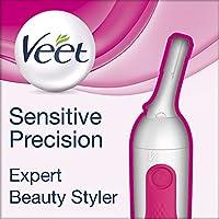 Veet Sensitive Precision Expert - Beauty Styler, Präzisions-Trimmer für Gesicht und Körper, 1er Pack (1 x 1 Stück)