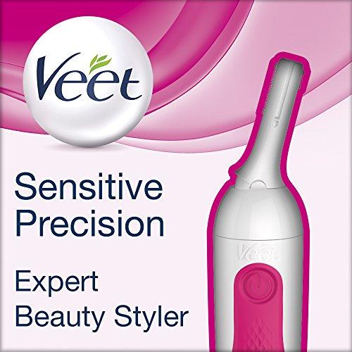 Veet Sensitive Precision Expert - Beauty Styler, Präzisions-Trimmer für Gesicht und Körper, 1er...