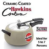 Hawkins Aluminium Pressure Cooker, 5 litres, Apple Green