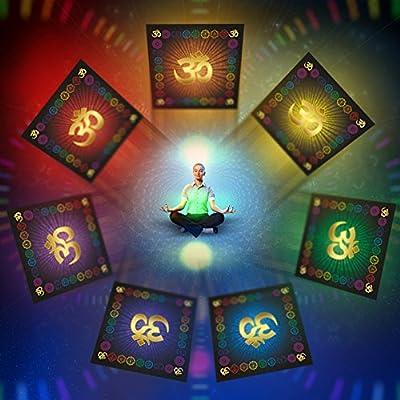 OM AUM Cloth Symbol Yoga Chakra Meditation Kissen Mat Fitness RED Muladhara