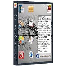 ON ACCOUNTING Software de Contabilidad (Incluye Servicio Mantenimiento y Actualizaciones 1 año) Ready to Work.