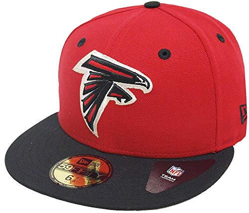 New Era Atlanta Falcons TC 2 Tone 59fifty Fitted Cap NFL Limited Edition Two Tone Fitted Cap