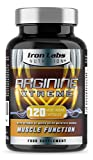 Iron Labs Nutrition, Arginine Xtreme, L-Arginine (2,600mg), Advanced Arginine Supplement with L-Glutamine for Muscle Strength, Growth & Development (120 Capsules, 30 Day Supply)