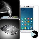 Donkeyphone S2FM5S13000 - Protector de Pantalla de Cristal para Xiaomi Mi 5S, Transparente