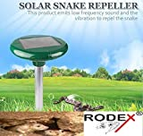 RODEX Solar Snake-1 Rodex Snake Repellent for Outdoor Use to Repel Snake