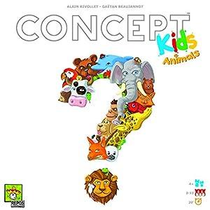 Repos Production ASMCONKID-EN01 Concept Kids: Animales, Colores Variados