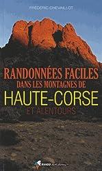 RANDONNEES FACILES MONTAGNES HAUTE CORSE ET ALENTOURS