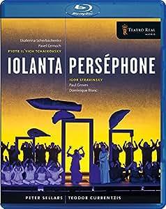 Tchaikovsky: Iolanta - Stravinsky: Perséphone [Blu-ray] [Import italien]