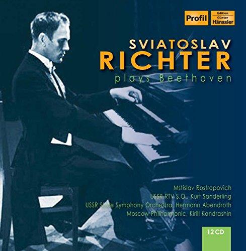 Sviatoslav Richter plays Beethoven (Beethoven-music Box)