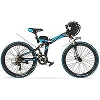 K660D 24 pulgadas Strong Powerful E Bike, 48V 12AH Motor de 240 W, Suspensión
