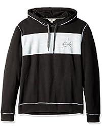 Calvin Klein Hombres 41F5304 Sudadera con Capucha