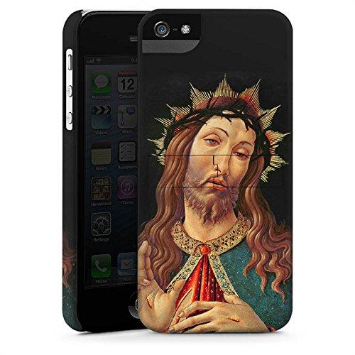 Apple iPhone X Silikon Hülle Case Schutzhülle Ecce Homo Jesus Christus Premium Case StandUp