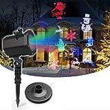 Kerst Projector Licht, Waterdichte Outdoor Sneeuwvlok Projector,Verwijderbare LED kan worden vervangen door afneembare filmprojectorlamp,voor bruiloft, vakantie, verjaardagsfeestje