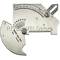 Calibrador de soldadura Bridge Cam para inspección sistema MG-8para articulaciones y superficies soldadas, acero inoxidable, métrico e imperial [Abbott]