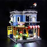 BRIKSMAX Kit di Illuminazione a LED per Lego Creator La Drogheria,Compatibile con Il Modello Lego 31050 Mattoncini da Costruzioni - Non Include Il Set Lego.
