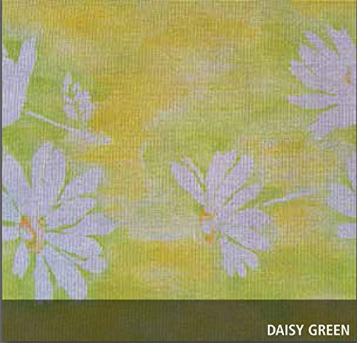 friedola1888 Gartentischdecke Miami Druck, Daisy Green, 160 cm, Rund, 25315
