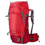 Jack Wolfskin Damen Rucksack Highland Trail, Indian Red, 53 x 31 x 15 cm, 34 Liter, 2004641-2210