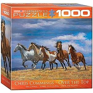 Euro Gráficos Puzzle 1000 Piezas - Cummings - Over The Top (8 x 8 Caja) (MO) - (EG80000709)