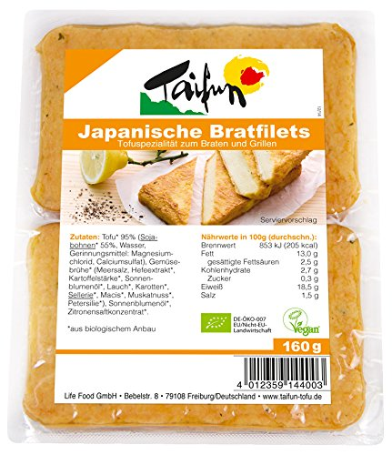 Taifun Tofu Filets -Japanese Style 160 g (order 8 for trade outer)