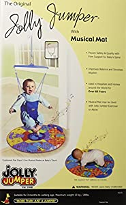 The Original Jolly Jumper Baby Exerciser With Musical Mat