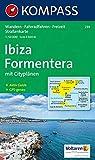 Kompass Karten, Ibiza - Formentera: Wandelkaart 1:50 000 (KOMPASS-Wanderkarten, Band 239) -