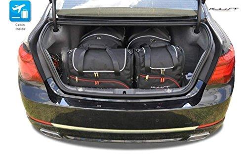 AUTO-TASCHEN MASSTASCHEN ROLLENTASCHEN BMW 7 F01 2008-2015 CAR BAGS - KJUST