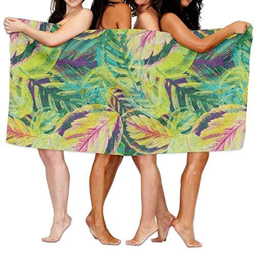 xcvgcxcvasda Serviette de Bain, Soft, Quick Dry, Plam Tree Summer Adult Soft Microfiber Printed Beach Towel Swimming,Surf,Gym,Spa 80cmx130cm/ 31x51