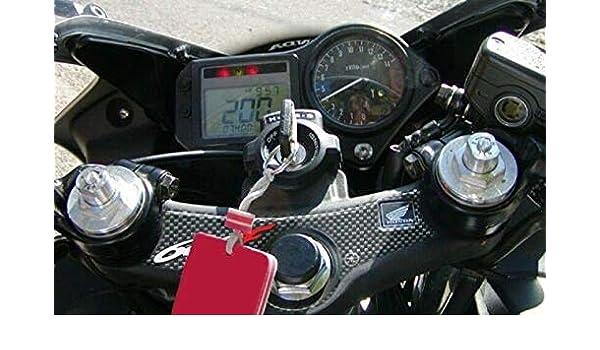 Adh/ésif en Gel 3d Compatible Moto Honda CBR 600 F 1999-2002 Plaque Direction