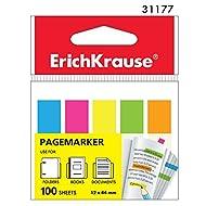 100 NEON Pagemarker 12mm x 44mm Seitenmarkierer Haftstreifen Klebezettel (EK-31177 Rechteckig)